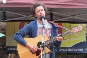 Comic singer-songwriter performing at Otley Courthouse